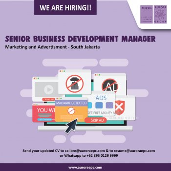 Senior Business Development Manager Marketing Advertisement Industry Latest Jobs Aurora Executive Placement Consultant